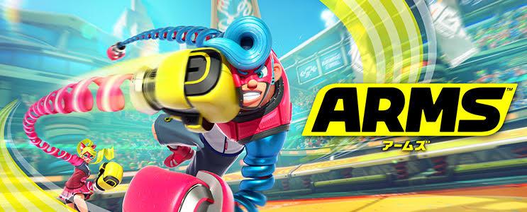 Nintendo Switch用ソフト『ARMS』の予約が開始!