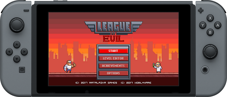 『League of Evil』がNintendo Switchへ!