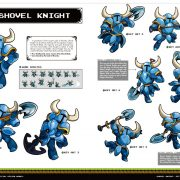 『Shovel Knight: Official Design Works』の中身の一部が公開