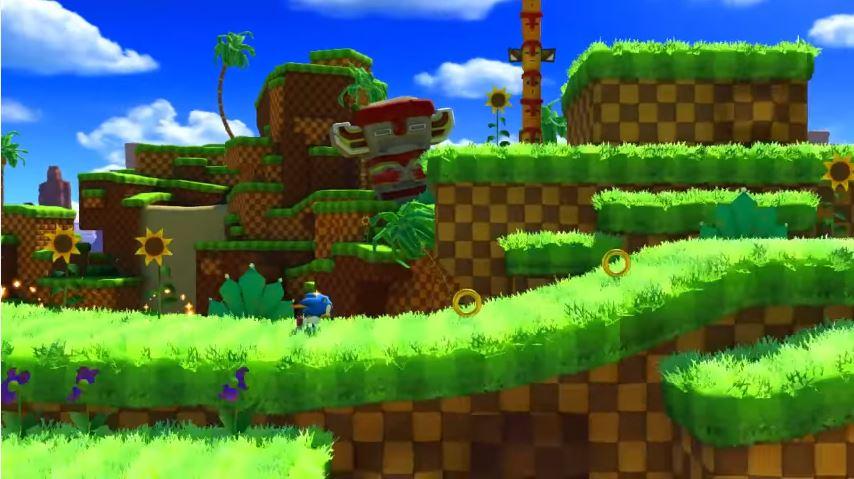 『ソニックフォース』のクラシックソニックGreen Hill Zoneプレイ映像が公開!