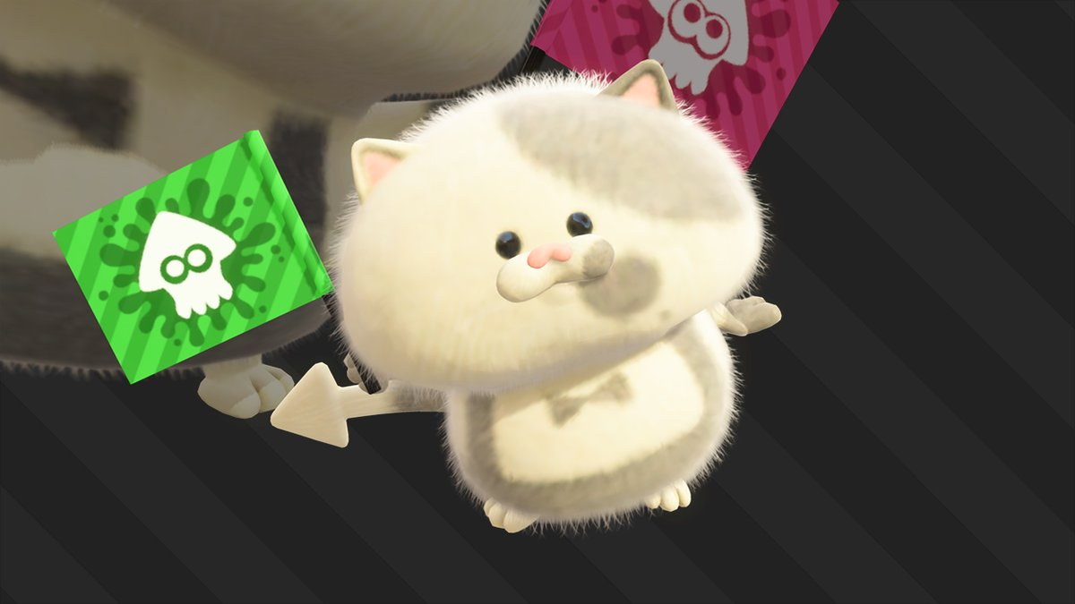 『スプラトゥーン2』の小さな猫の名前が「コジャッジくん」と判明!