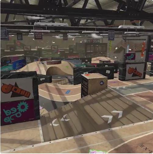 『スプラトゥーン2』の新ステージ「ポンプトラック(Pump Track)」が発表!