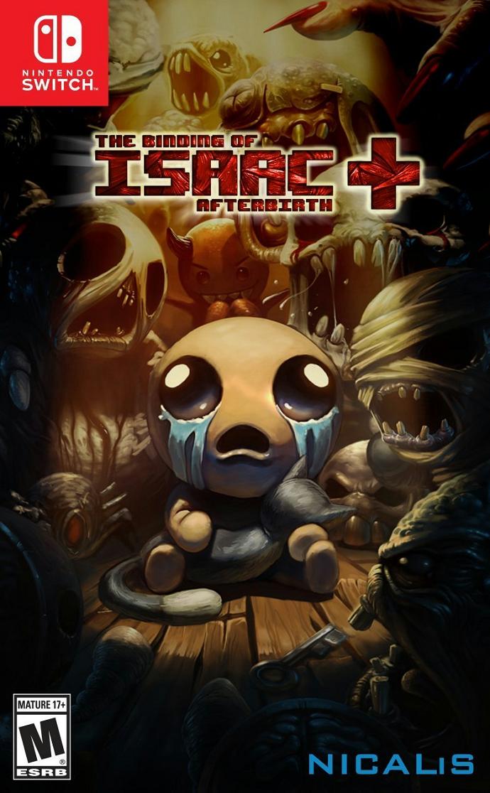 『The Binding of Isaac: Afterbirth+』がニンテンドースイッチに対応へ