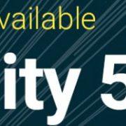 Unity5シリーズの最終バージョンとなる「Unity5.6」がリリース開始