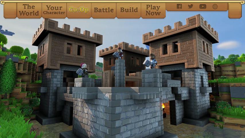 Nintendo Switchでも発売される『Portal Knights (ポータルナイツ)』の紹介映像が公開