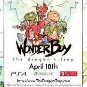 『Wonder Boy: The Dragon's Trap』は4月18日に配信! 日本版の配信も予定