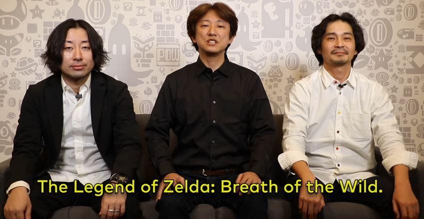 GDC 2017:『ゼルダの伝説 BotW』の開発スタッフからの動画メッセージが公開