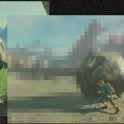 『ゼルダの伝説 BotW』 スタート地点の岩をボスのところまで運べるのは本当なのか?