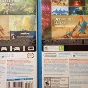 北米のWii U版『ゼルダの伝説 BotW』の裏パッケージにはちょっとした印刷ミスが?