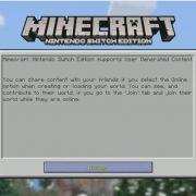 『Minecraft Nintendo Switch Edition』のプレイ動画が公開