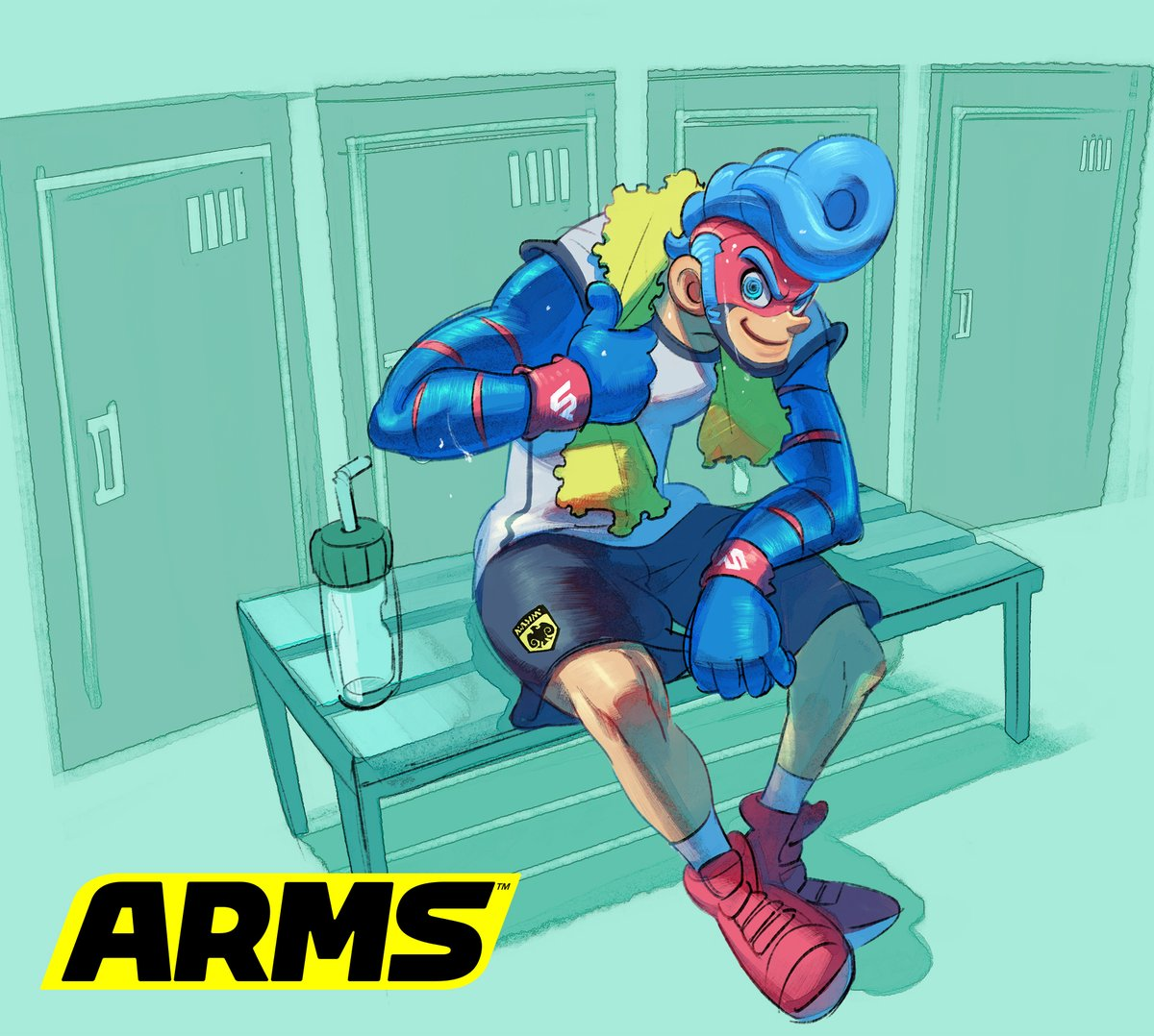『ARMS』 スプリングマンのアートワークが公開