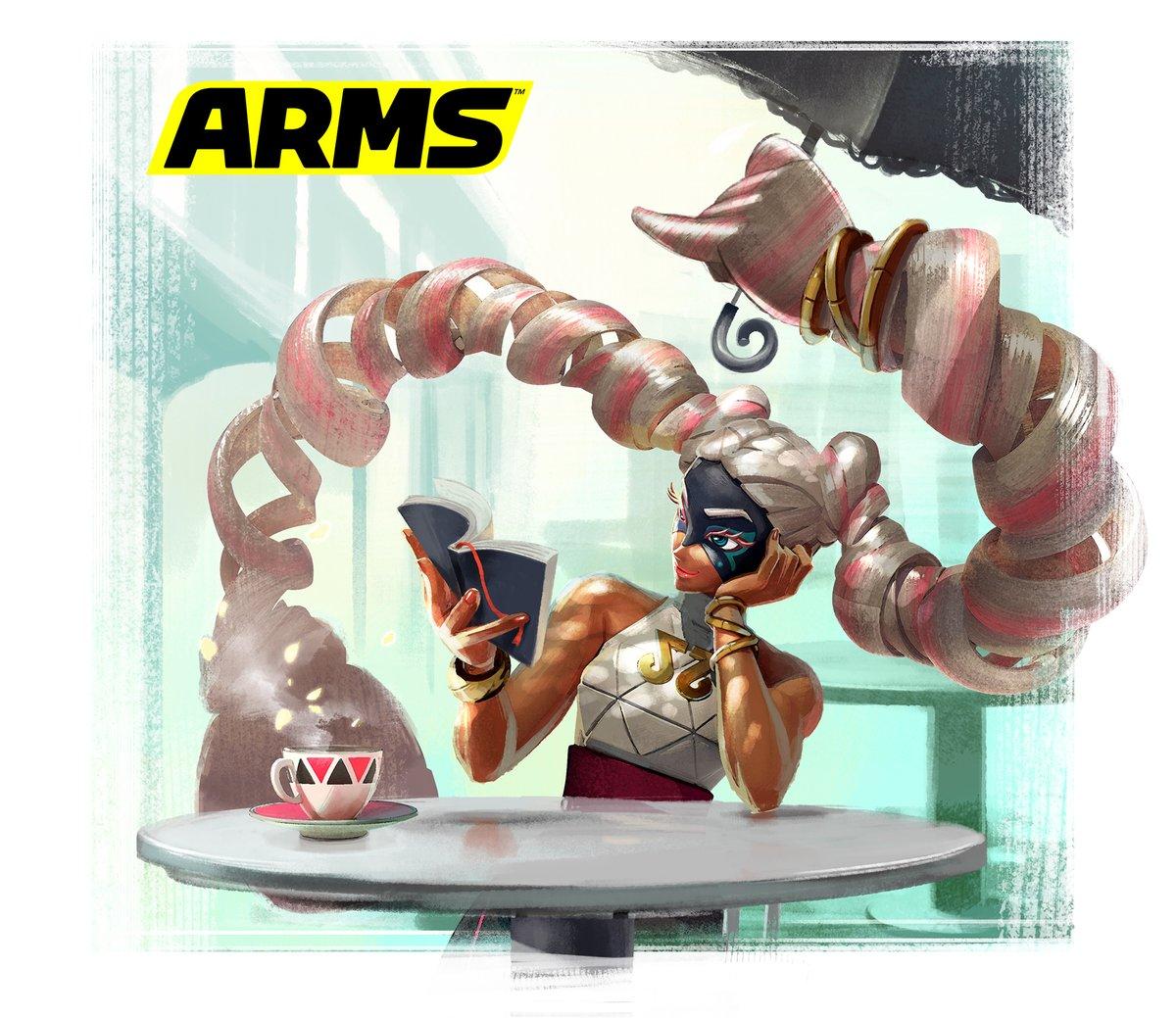『ARMS』 スプリングマンとツインテーラのアートワークが公開