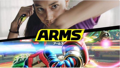 『ARMS』のテレビCMが公開!