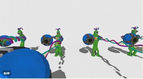 『ARMS』 DNAマンのアクションフィギュアの動画が公開