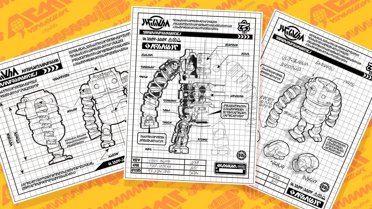 『ARMS』 パワードスーツの「設計図」が公開!