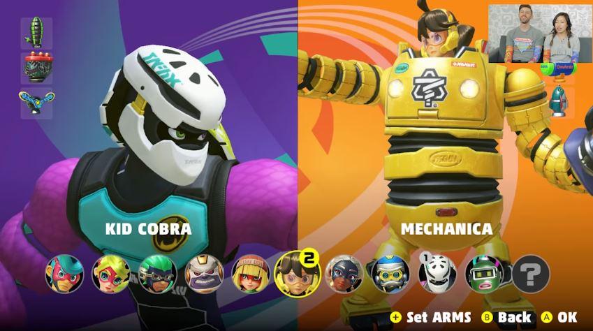 米任天堂による『ARMS』のプレイ動画が公開