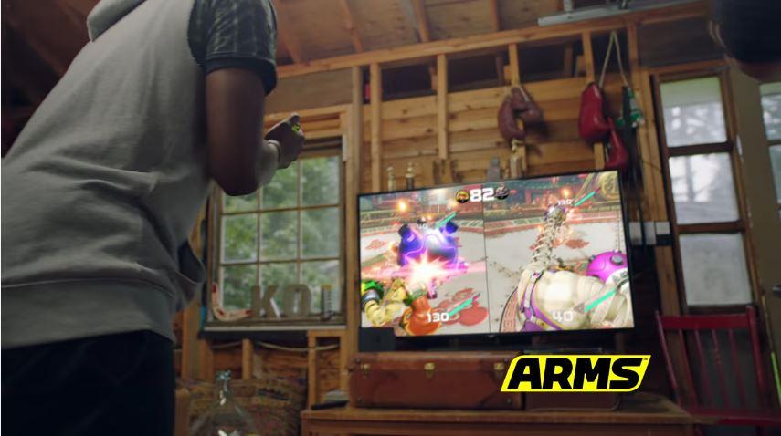 米任天堂から『ARMS』のテレビCMが公開!