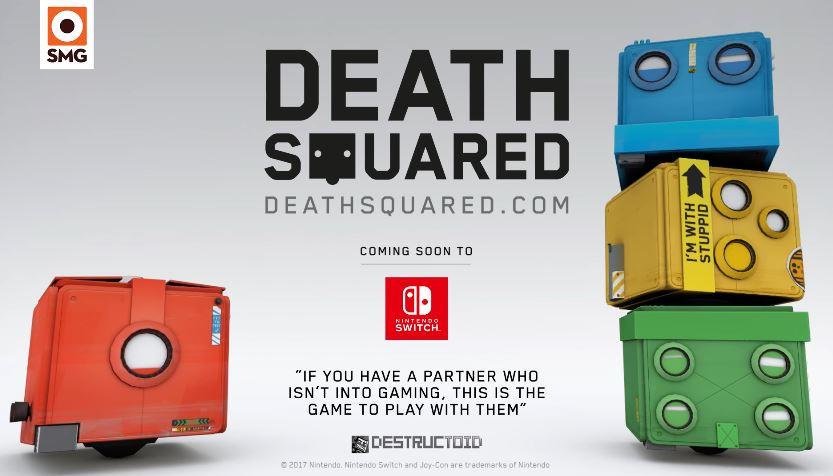 マルチプレイヤーパズルゲーム『Death Squared』がNintendo Switchで発売へ!