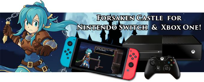 16bitのアクションゲーム『Forsaken Castle』がNintendo Switchに対応決定!