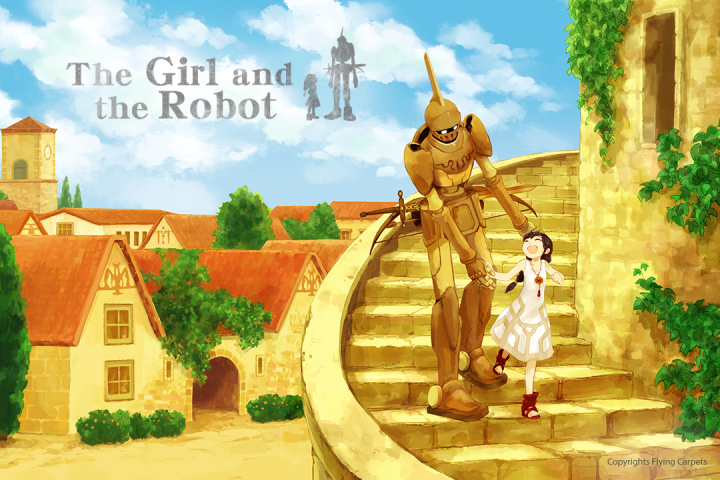 『The Girl and the Robot (日本語名:少女とロボット)』の米国での配信日が2017年5月25日に決定!