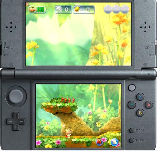 ニンテンドー3DS用ソフト『Hey! ピクミン』の9分間のプレイ動画がIGNから公開