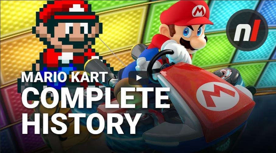 Nintendo Lifeから『マリオカート』のヒストリー動画が公開!