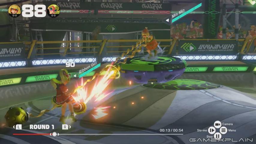 『ARMS』 リプレイ機能のプレイ動画が公開