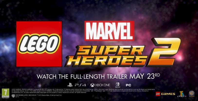 『LEGO Marvel Super Heroes 2』がNintendo Switchで発売決定! ティザートレーラーが公開