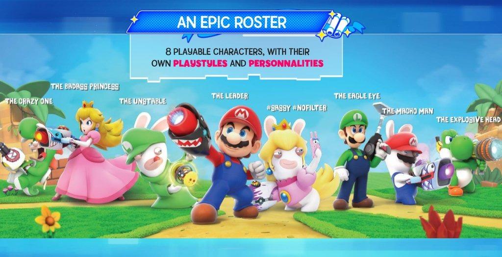 【噂】 『Mario + Rabbids Kingdom Battle (マリオ×ラビッツ)』のリーク画像が公開!