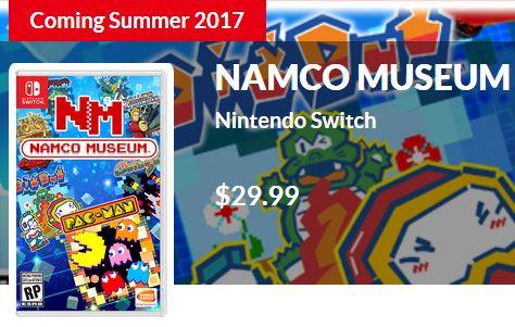 Bandai Namco Europe「NAMCO MUSEUMはデジタル版だけのリリースになる。」