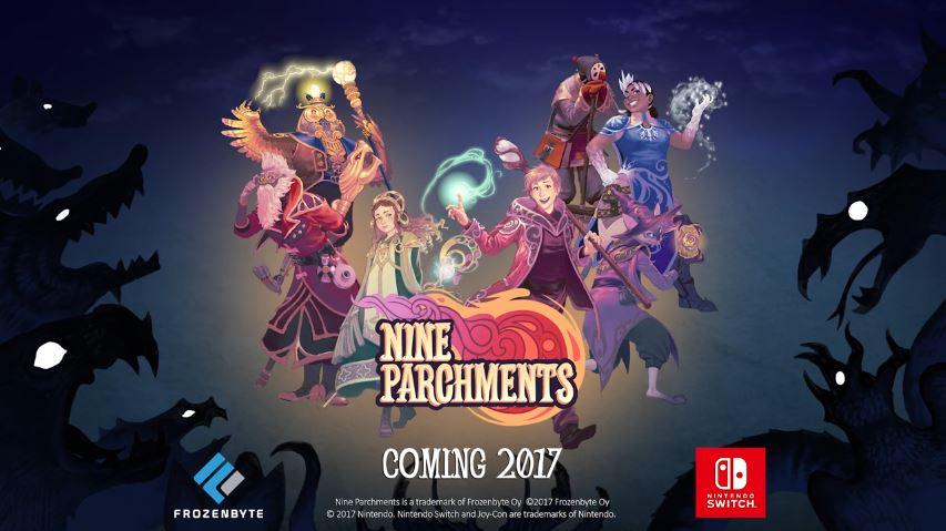 『Nine Parchments』のAnnouncement Trailerが公開