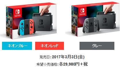 2017年5月15日~5月21日の販売ランキングが公開! Switch本体は26,114台を販売!