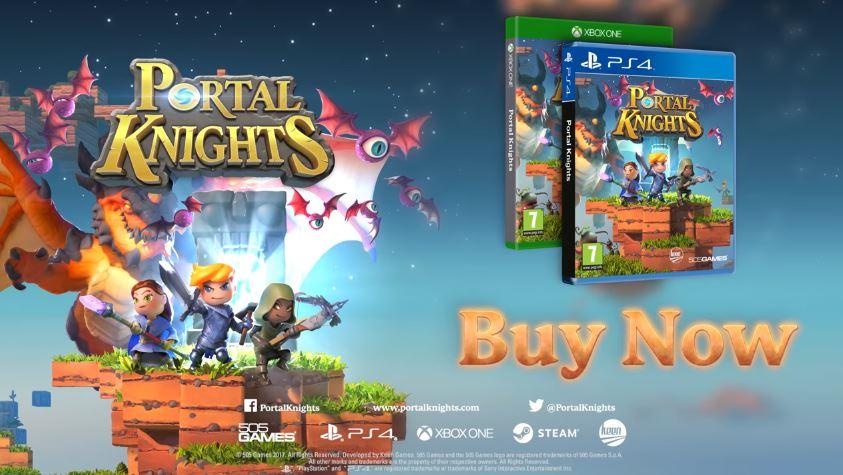 Nintendo Switchでも発売される『Portal Knights (ポータルナイツ)』のUK トレーラーが公開