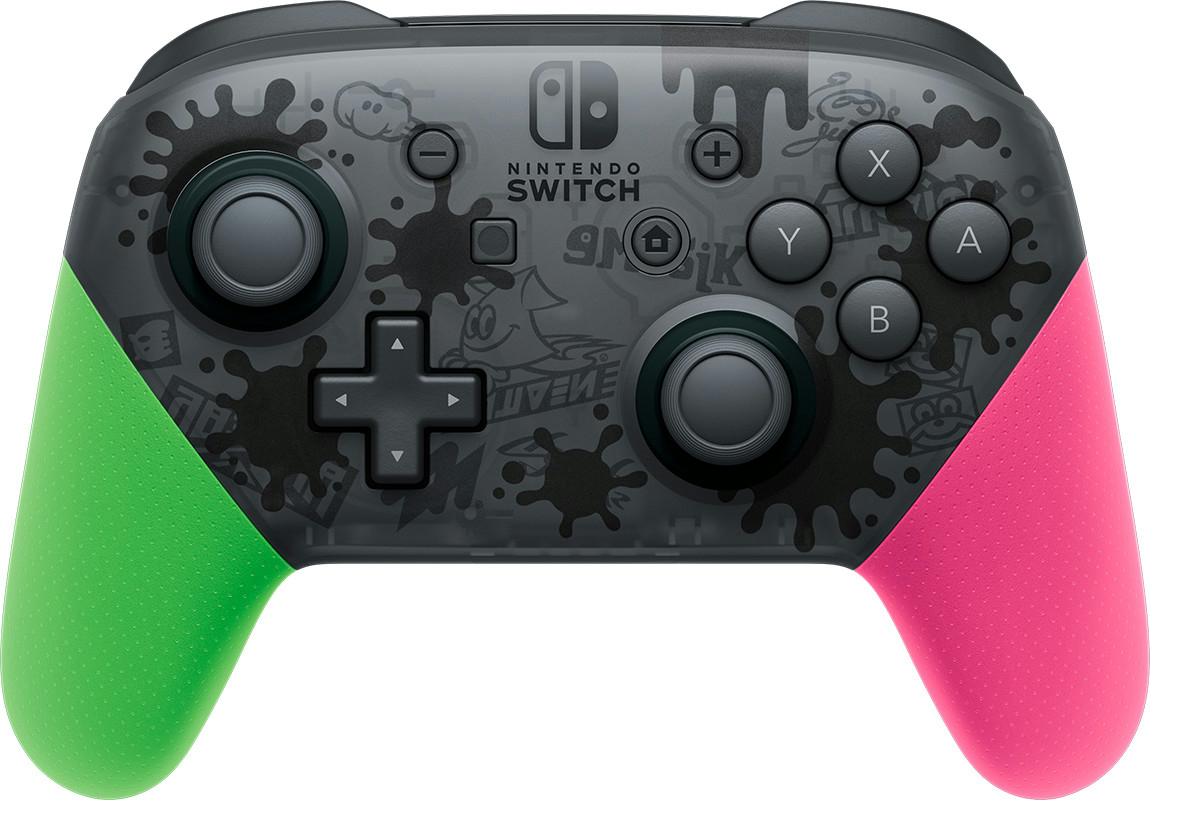 【完売】Amazonで『Nintendo Switch Proコントローラー スプラトゥーン2エディション』の予約再開!