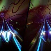 今日から配信開始の『THUMPER リズム・バイオレンスゲーム』のPS4とSwitch版の比較映像