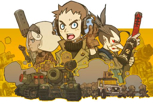 PC/PS4向けのターン制SLG『TINY METAL』がNintendo Switchでも発売決定!