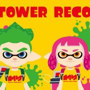 「スプラトゥーン2 × TOWER RECORDS」のネット予約が今日から開始!
