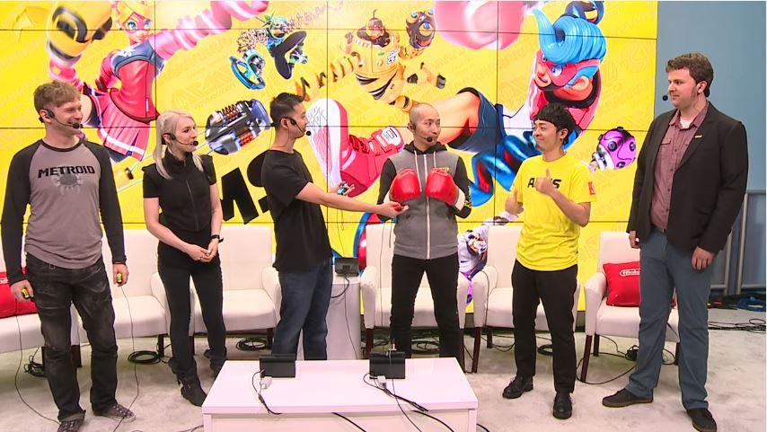 開発者も登場! 『ARMS』のE3ステージイベントのアーカイブ動画が公開!