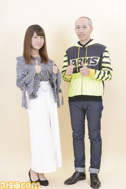 『ARMS』 矢吹光佑プロデューサー&椿姫彩菜さんの対談がファミ通.comに掲載!