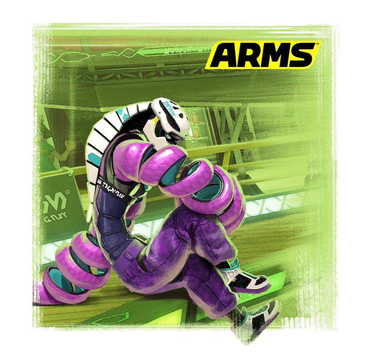 『ARMS』の更新データVer. 2.1.0が8月9日から配信開始!