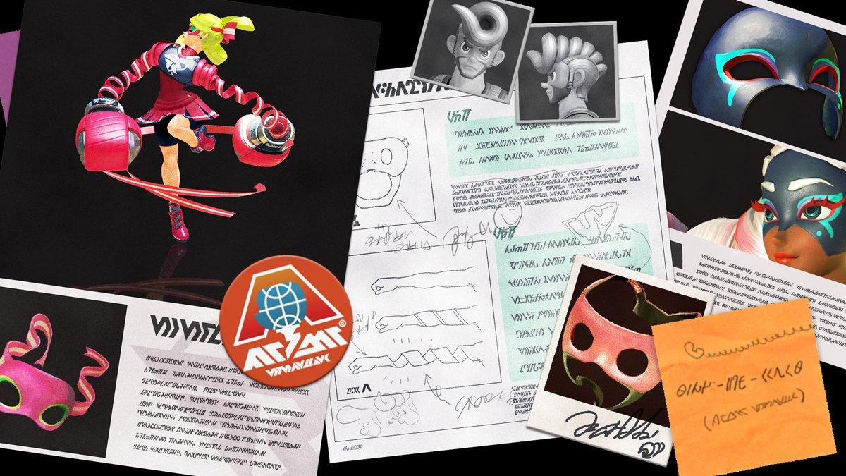 『ARMS』 マスクのアートワークと情報が公開