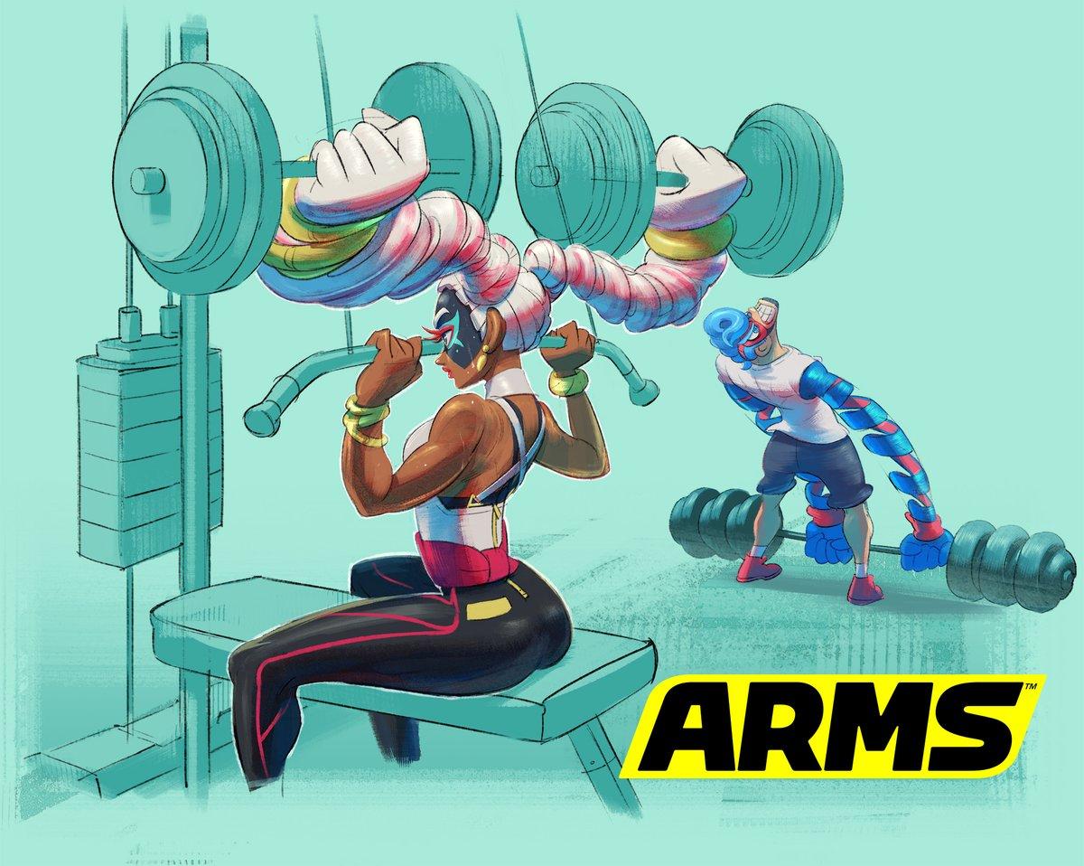 『ARMS』 ツインテーラのアートワークが公開