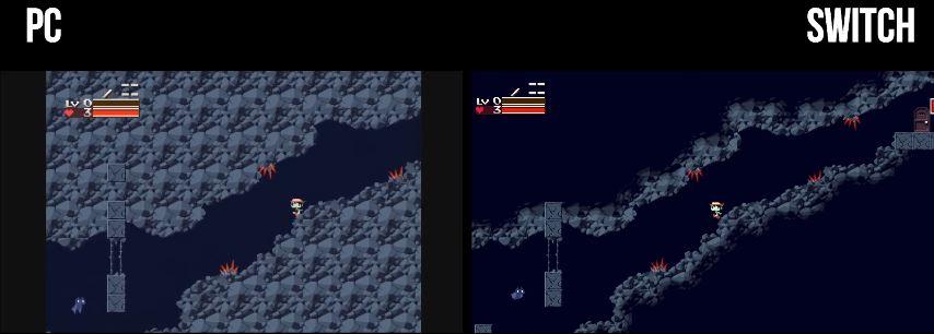 『Cave Story+ (洞窟物語+)』のPC版とSwitch版の比較動画が公開!
