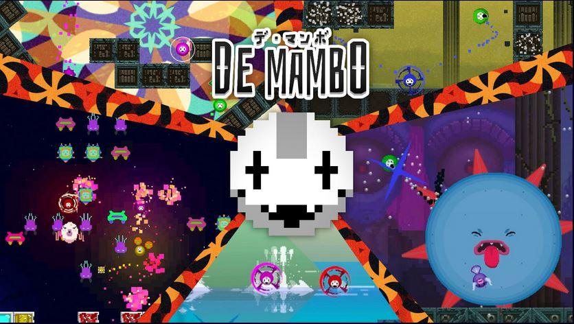 Nintendo Switch用ソフト『デ・マンボ』が今日から配信開始!