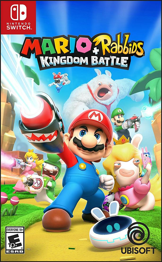 『Mario + Rabbids Kingdom Battle (マリオ×ラビッツ)』が正式発表!