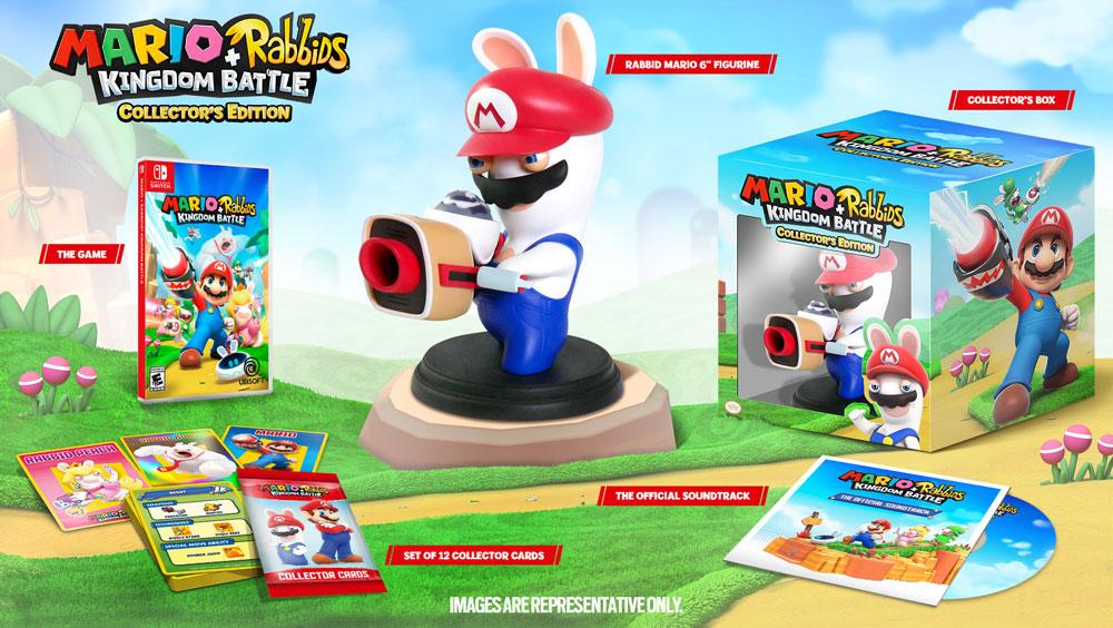『Mario + Rabbids Kingdom Battle (マリオ×ラビッツ)』、GameStopでは限定版が発売!