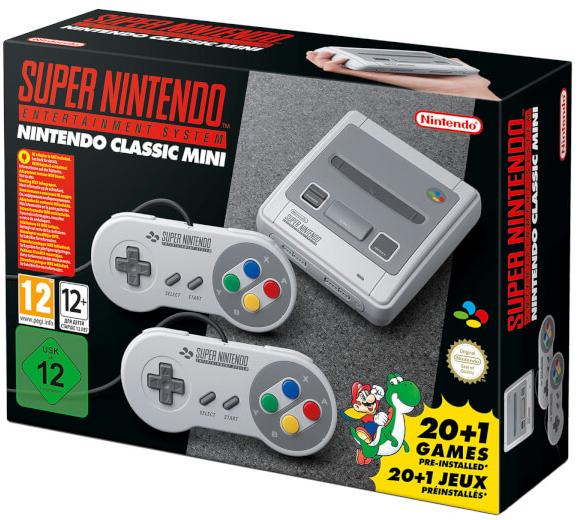 Nintendo UKストアで『Nintendo Classic Mini: Super Nintendo Entertainment System』の予約が開始も即完売!