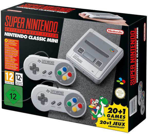 Nintendo UKストアで『Nintendo Classic Mini: Super Nintendo Entertainment System』の予約が開始も即完売!