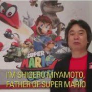 Nintendo Australiaが宮本茂さんの動画メッセージを公開!【E3 2017】