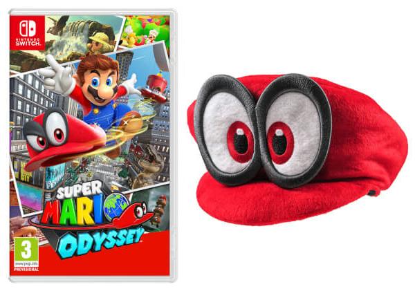 Nintendo UKストアで『スーパーマリオオデッセイ』を予約すると「キャッピー帽子」が付いてくる!
